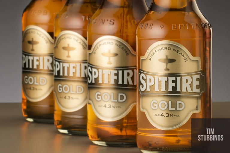 Spitfire Gold for the Kent brewer Shepherd Neame
