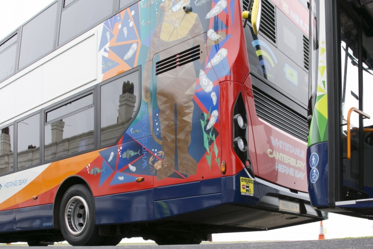 New Stagecoach bus fleet designs are inspired by three distinct Kent icons