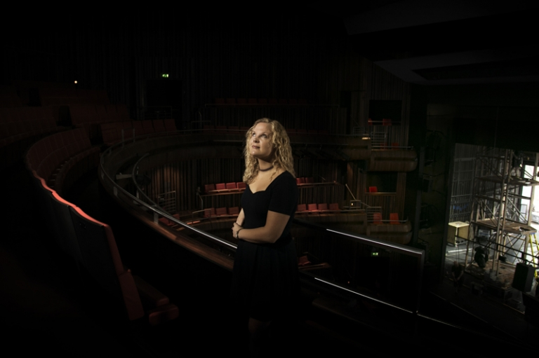 Location commercial photography for the Marlowe Theatre in Canterbury